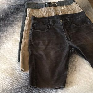 3 Pair of Cutoff Levi Strauss & Co Jeans -See Pics